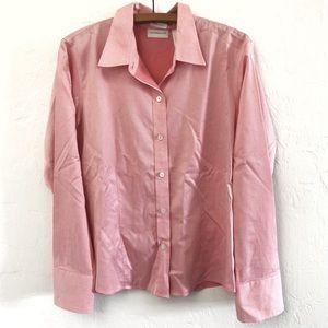 Liz Claiborne Non Iron Dress Shirt Women's 14